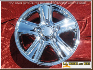 "Lexus LX470 OEM 18"" Set of 4 Chrome Wheels"