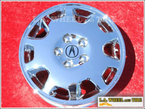 "Acura 3.5 RL OEM 16"" Set of 4 Chrome Wheels"