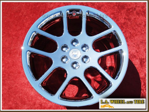 "Dodge Viper Forged OEM 18"" / 19"" Set of 4 Chrome Wheels"