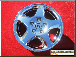 "Acura 3.2 TL OEM 16"" Set of 4 Chrome Wheels 71718"