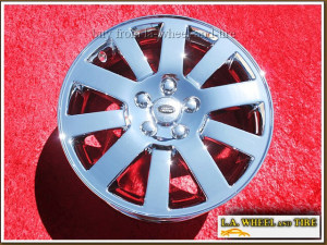 "Land Rover LR3 OEM 18"" Set of 4 Chrome Wheels"