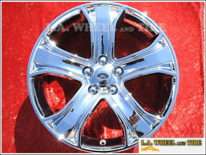 "Range Rover Sport OEM 20"" Set of 4 Chrome Wheels"
