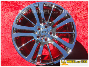 "Range Rover Sport Supercharged OEM 20"" Set of 4 Chrome Wheels"
