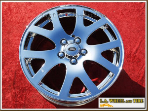 "Range Rover Sport OEM 19"" Set of 4 Chrome Wheels"