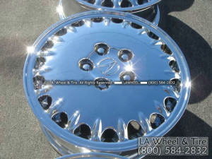 "Acura 3.5 RL OEM 16"" Set of 4 Chrome Wheels 71677"
