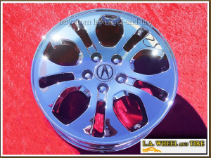 "Acura MDX Touring OEM 17"" Set of 4 Chrome Wheels 71730"