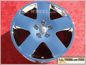 "Audi A8 OEM 18"" Set of 4 Chrome Wheels"