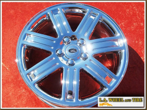 "Range Rover HSE OEM 19"" Set of 4 Chrome Wheels"