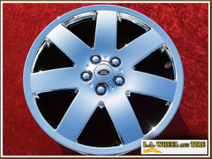 "Range Rover HSE OEM 20"" Set of 4 Chrome Wheels"