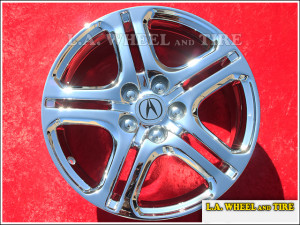 "Acura RL A-Spec OEM 18"" Set of 4 Chrome Wheels"