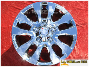 "Toyota Tundra / Sequoia OEM 20"" Set of 4 Chrome Wheels 69533"