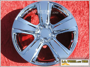 "Acura MDX OEM 18"" Set of 4 Chrome Wheels 71793"
