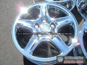 "Lexus RX300 OEM 16"" Set of 4 Chrome Wheels 74152"