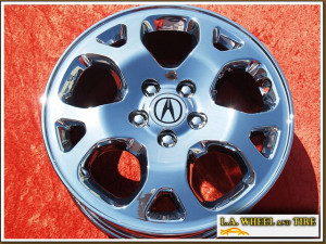 "Acura MDX Touring OEM 17"" Set of 4 Chrome Wheels 71712"