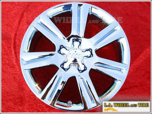 "Audi A4 OEM 17"" Set of 4 Chrome Wheels 58836"