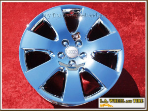 "Audi A6 OEM 18"" Set of 4 Chrome Wheels 58781"