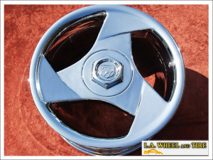 "Dodge Viper OEM 17"" Set of 4 Chrome Wheels"
