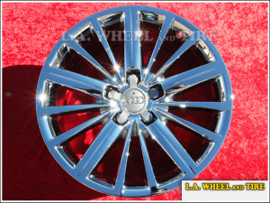 "Audi A5 / S5 OEM 18"" Set of 4 Chrome Wheels"