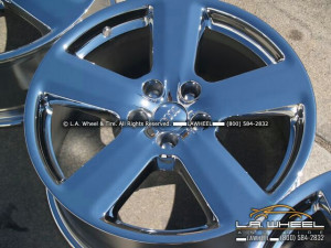 "Audi A4 / A6 / S4 S-Line OEM 18"" Set of 4 Chrome Wheels"